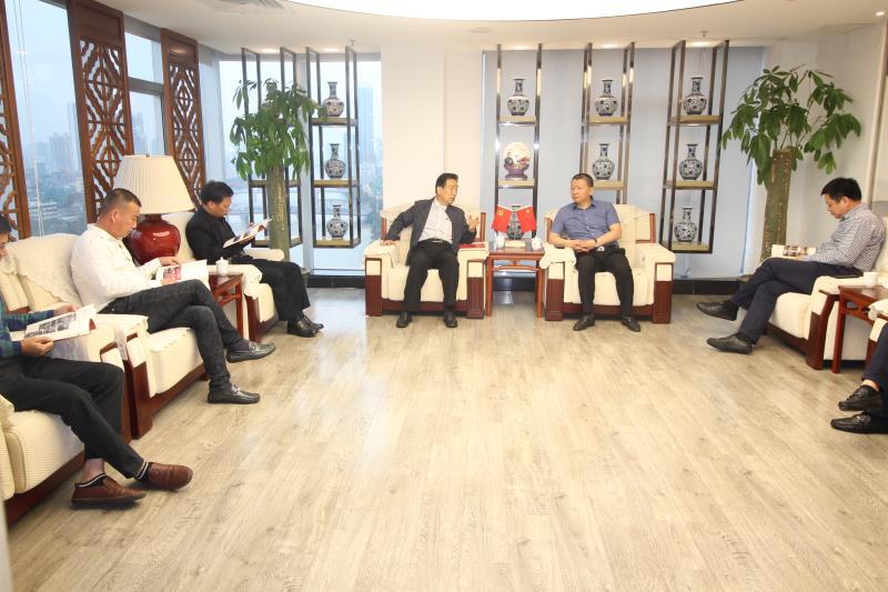 泉州市政协李冀平副主席一行莅临广东省福建泉州商会考察指导